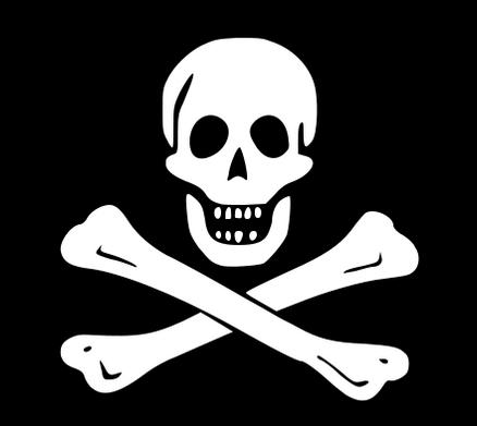 tengkorak bajak laut