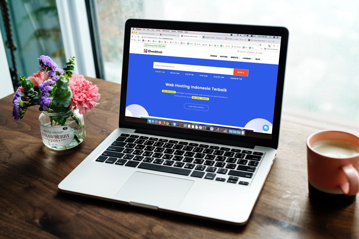 Cari Domain dan Hosting Murah Buat Blog? Beli di Sini Aja!