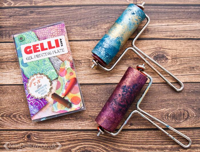 Kim Dellow's Favourite products March 2017: Synthetic gel Monoprinting plates