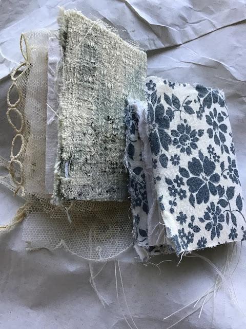 Mixed Media Mini Fabric Books