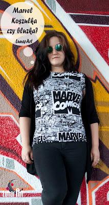 T-shirt i bluzka ze świata Marvela