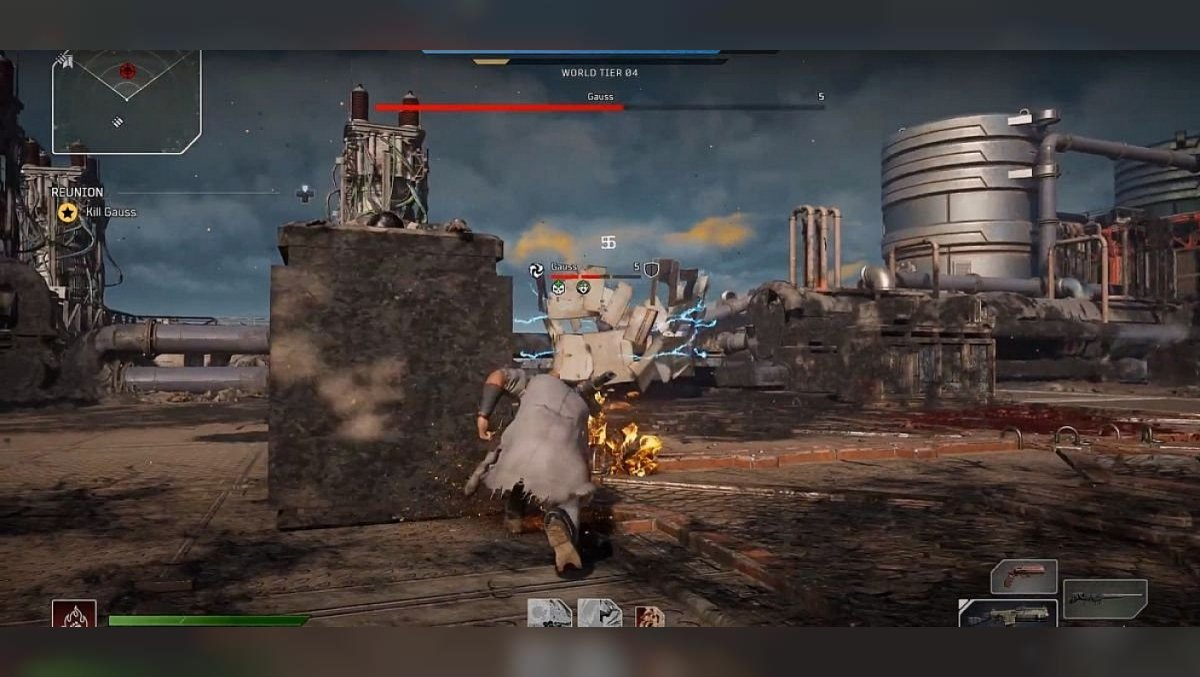 How to kill Gauss in Outriders. Boss rewards