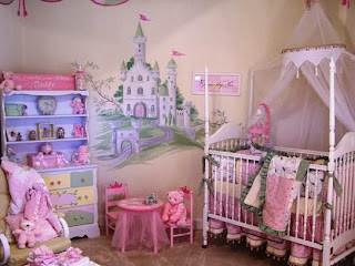 Decoración cuarto de princesa