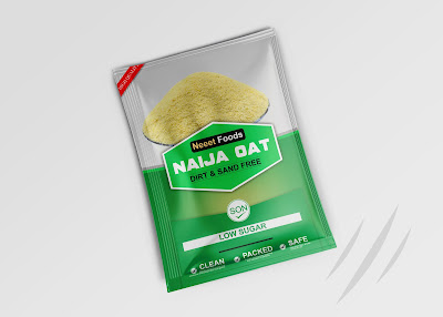 Packaging Design - Naija Oat by Neeets Food
