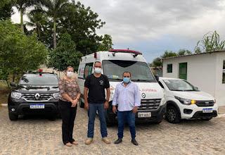 UPA de Guarabira ganha nova ambulância em reivindicação de Célio Alves.