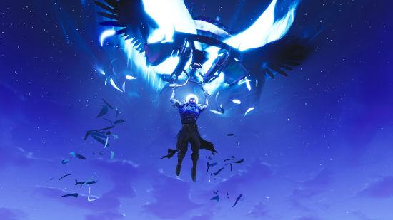 Fortnite Battle Royale - Raven - Parachute - Full HD 1080p