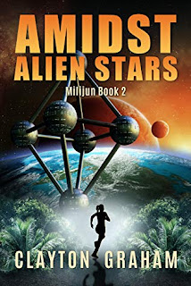 Photo of the book cover of Amidst Alien Stars by Clayton Graham