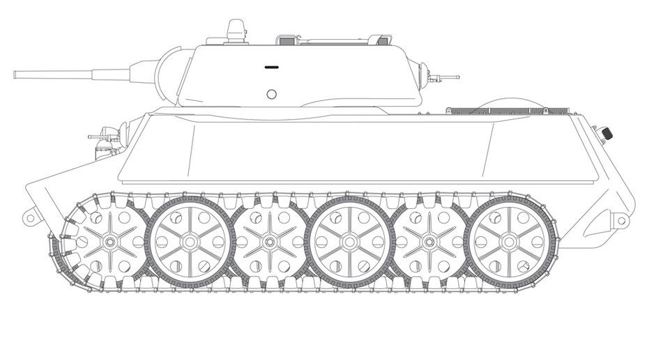 Sasha military tank skin WIP 7