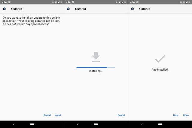 جوجل كاميرا  ريلمى Realme 3 & 3 Pro