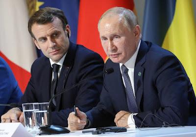 Putin Makronu başa saldı: Fransa Qarabağı Azərbaycan ərazisi kimi tanıdı