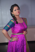 Shilpa Chakravarthy in Purple tight Ethnic Dress ~  Exclusive Celebrities Galleries 083.JPG