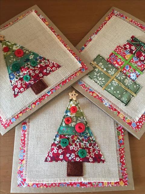 32 Idéias de Natal com tecido e feltro