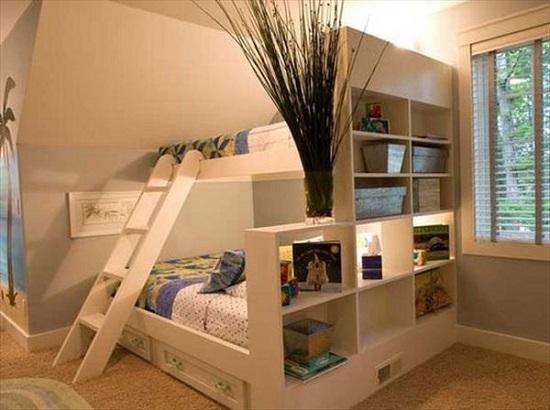 Kiểu giường ngủ tiện nghi, khoa học vô cùng cho không gian nhà bạn