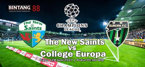 Prediksi Bola The New Saints vs College Europa 28 Juni 2017