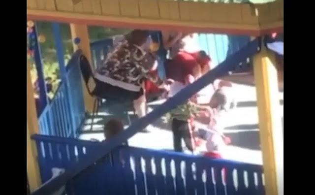 Воспитательница детдома выбросила ребенка из коляски и ударила по голове! Шокирующее видео!