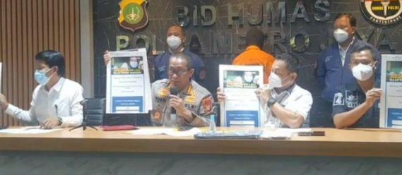 Berkedok Website Penipuan Bansos Kemensos, Polda Metro Jaya Ringkus Tersangka Berinisial RR