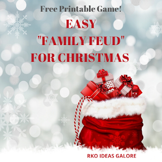 Easy Christmas Family Feud Game