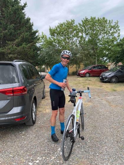 carbon road bike rental in Riparbella Pisa