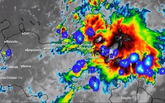 Alerta en Venezuela ante paso de tormenta tropical Karen