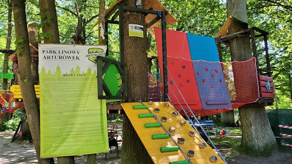 park linowy dla dzieci,