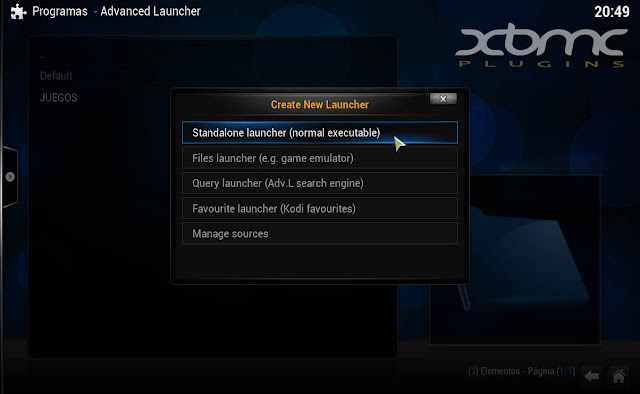 ADVANCED LAUNCHER CONFIGURACION