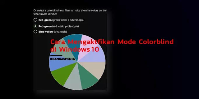 Cara Mengaktifkan Mode Color blind Windows 10