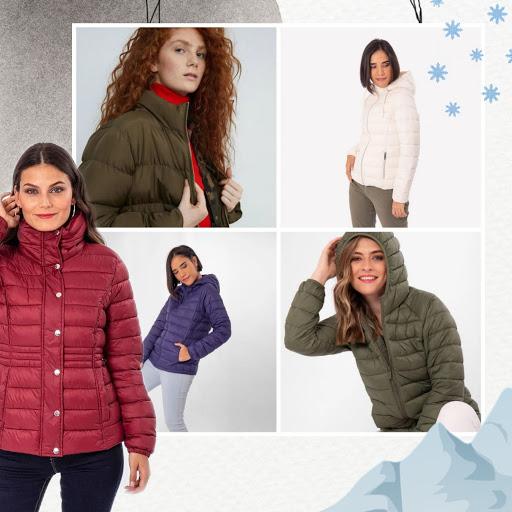 Cómo combinar casacas para mujer padding