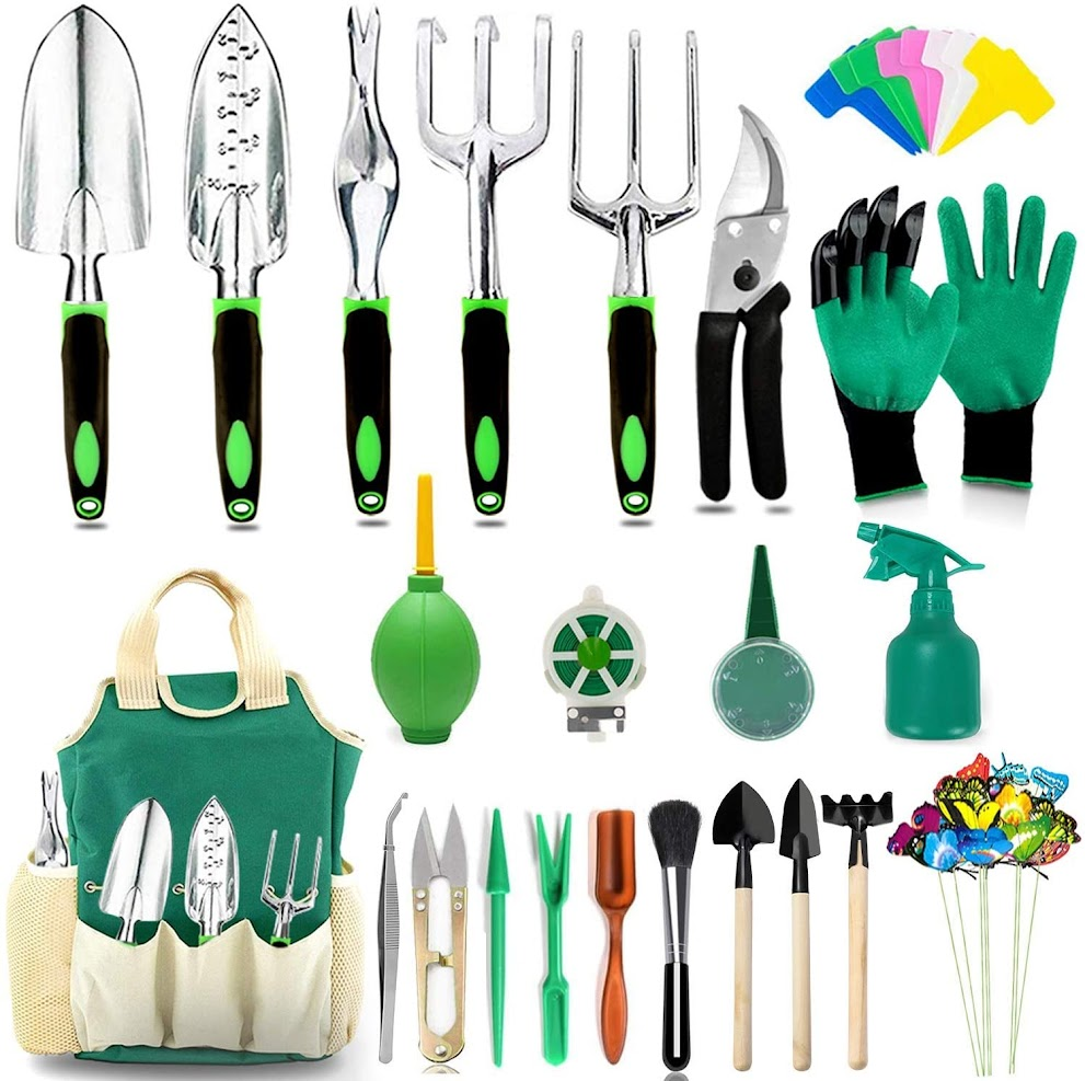 AOKIWO 40 PCS Garden Tools Set Heavy