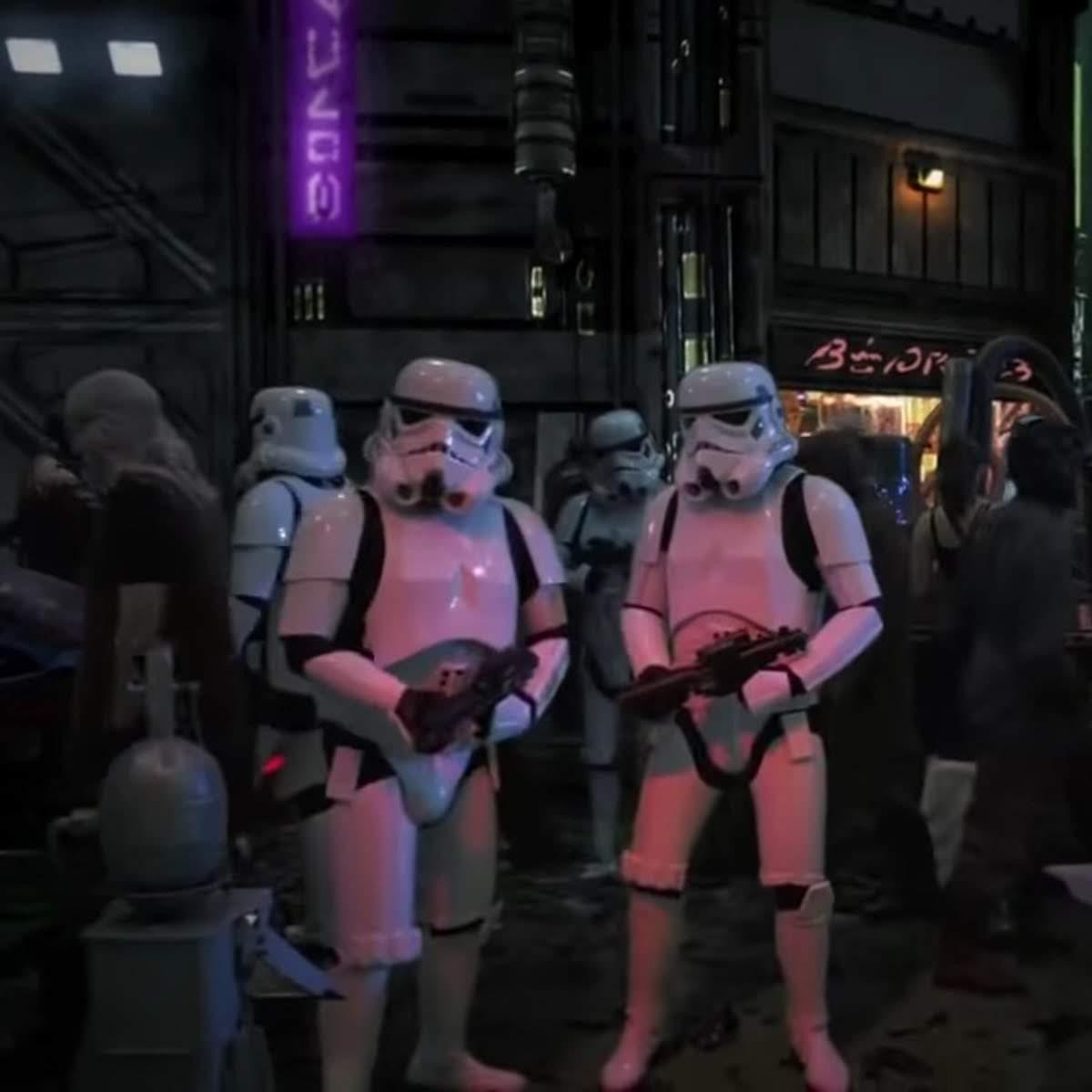 Star Wars Underworld :「スター・ウォーズ」の裏社会を描こうとした幻の実写テレビシリーズ「アンダーワールド」のテスト映像と撮影の様子のメイキング・ビデオがリークされた ! !