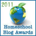 Homeschool Blog Award Nomenee