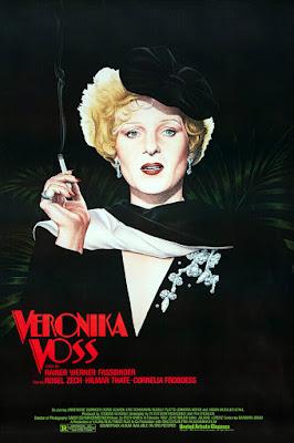 Póster de 'La ansiedad de Veronika Voss'