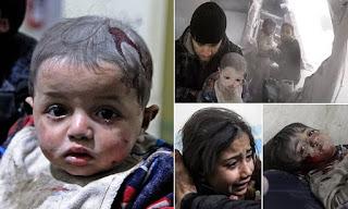 Tiga Anak Suriah Terbunuh dalam Serangan Rezim Syiah Suriah di Idlib