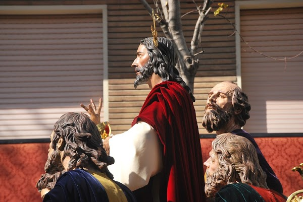 Documental  de la  Historia del proyecto y ejecucion del Apostolado del Misterio de la Sagrada Cena,  ejecutado por Luis Otega Bru .