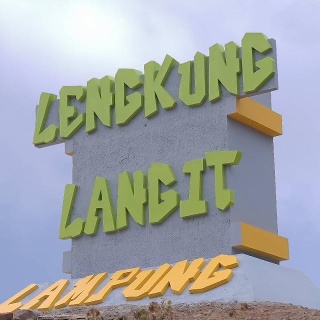 Lokasi Lengkung Langit Lampung