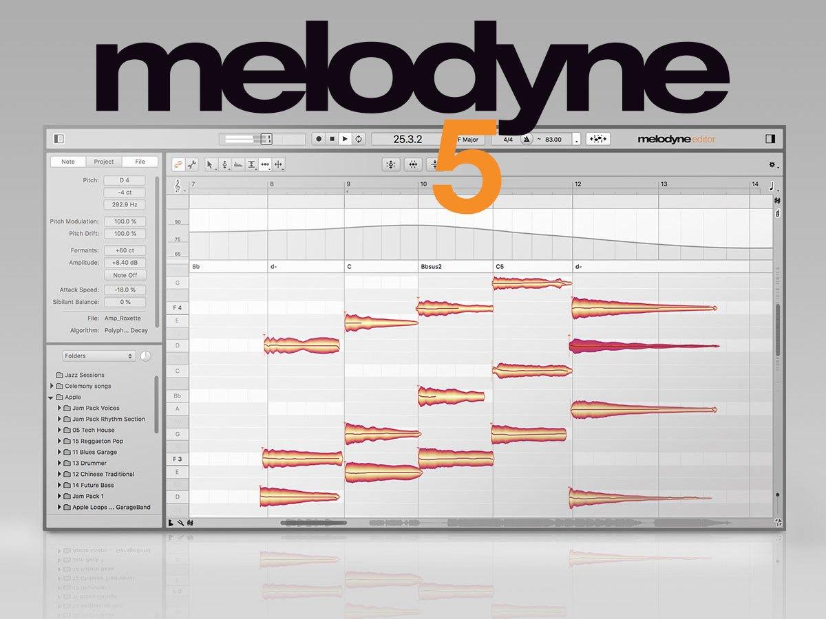 Melodyne Studio 5