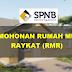 Permohonan Rumah Mesra Rakyat (RMR) - Bantuan Kepada Golongan Berpendapatan Rendah