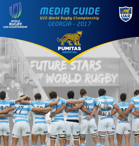 Media Guide de Los Pumitas 2017 #JRWC2017
