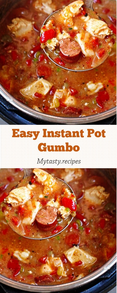 Easy Instant Pot Gumbo