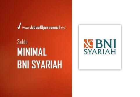 Saldo Minimal BNI Syariah