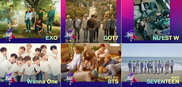 Best  male group mama 2017