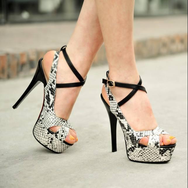 Teen girls in high heels