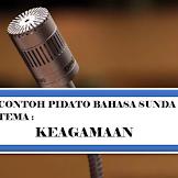 Contoh Teks Pidato Bahasa Sunda Tema Keagamaan
