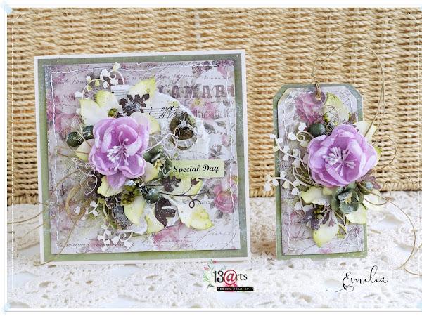 Vintage Love Challenge & Handmade Flowers