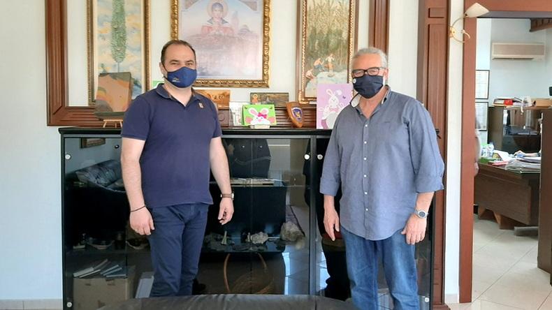 Επίσκεψη του Περιφερειακού Προϊσταμένου της Ελληνικής Αρχής Γεωλογικών και Μεταλλευτικών Ερευνών στο Διδυμότειχο