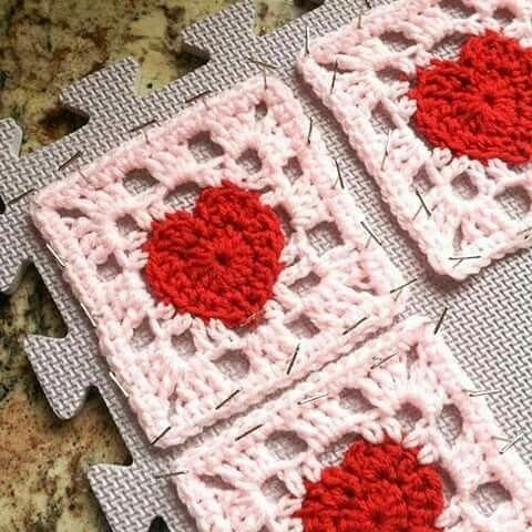 Squares Coração