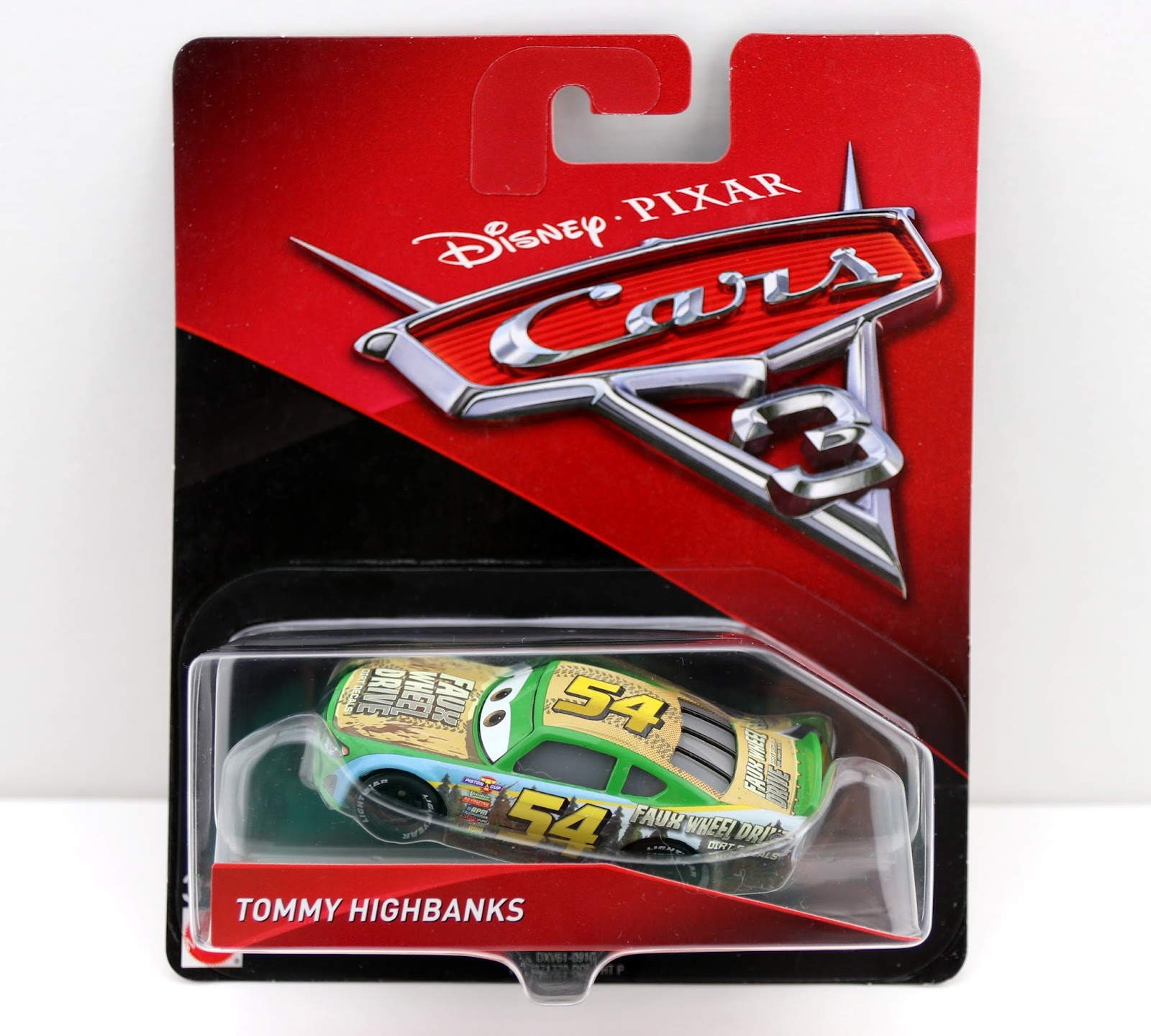 Cars 3 mattel tommy Highbanks