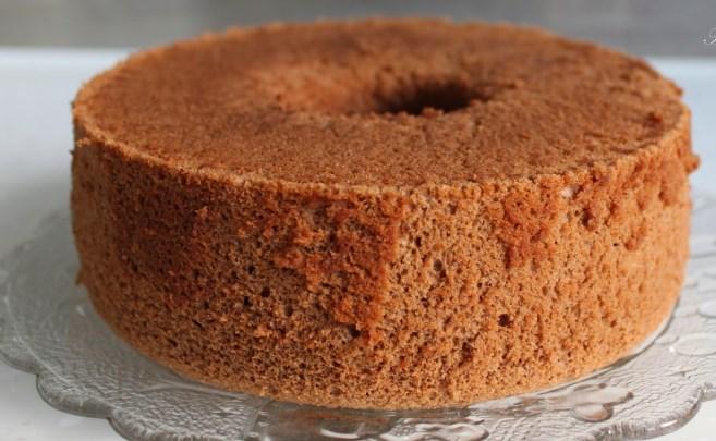 Mocha Chiffon Cake #desserts #cake