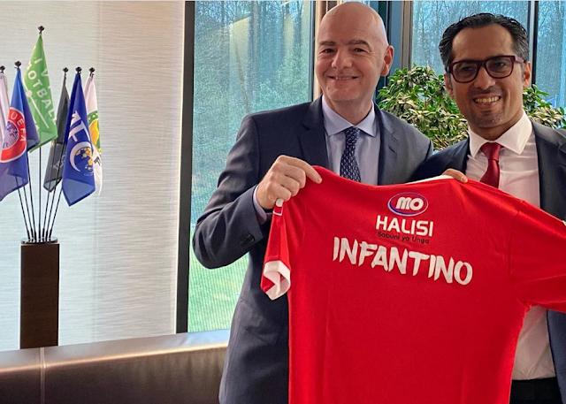 Gianni Infantino, MO Dewji