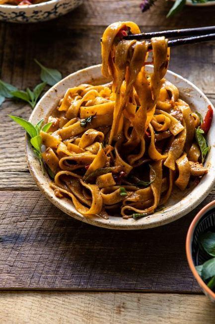 Better Than Takeout Thai Drunken Noodles