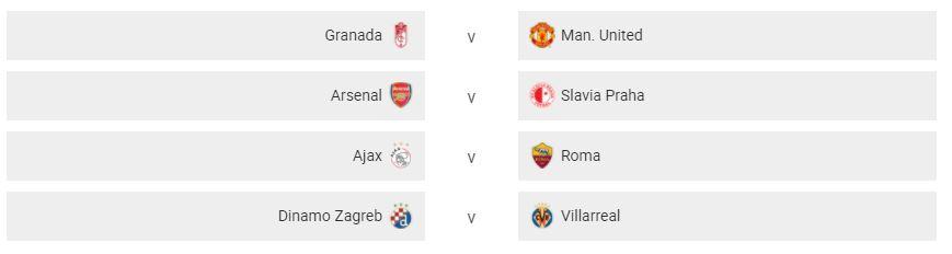 Hasil Drawing Perempat Final Liga Europa